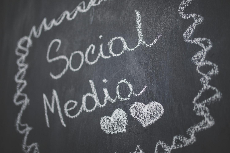 kaboompics.com_Chalkboard_ Social Media