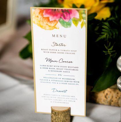 Wedding Invitations & Finishing Touches