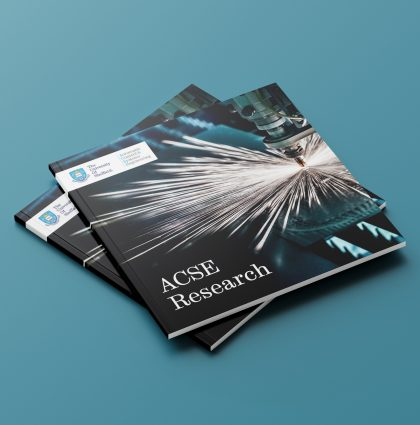 Sheffield ACSE Research Facility Brochure